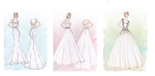 design your own wedding dress rugby warwickshire